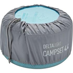 Sea to Summit Delta Light 4 Person Camp Set 4.4, pacific blue/grey